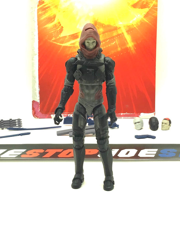 2012 RETALIATION G.I. JOE COBRA ZARTAN V21 LOOSE 100% COMPLETE + FULL CARD