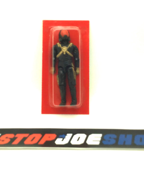 1988 ARAH G.I. JOE COBRA STAR-VIPER V1 STELLAR STILETTO PILOT NEW IN BUBBLE FACTORY SEALED AS PICTURED (c)