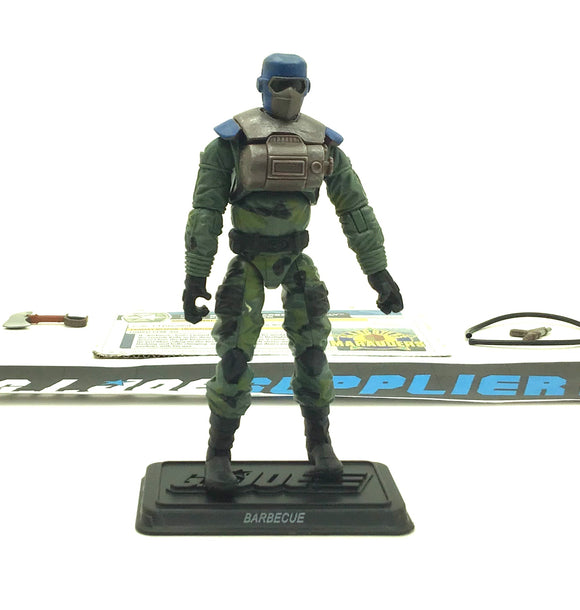 2011 30TH ANNIVERSARY G.I. JOE BARBECUE V6 SLAUGHTER'S MARAUDERS PACK BBTS EXCLUSIVE LOOSE 100% COMPLETE + F/C
