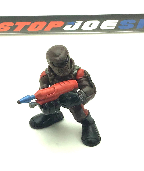 2009 COMBAT HEROES G.I. JOE COBRA AQUA-VIPER V1 ROC RISE OF COBRA LOOSE