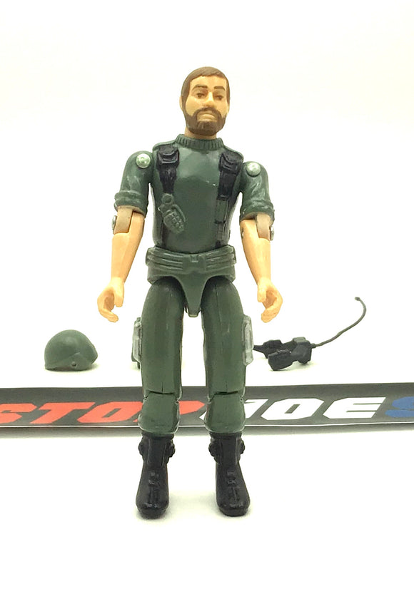 1982 ARAH G.I. JOE BREAKER V1 COMMUNICATIONS OFFICER LOOSE 100% COMPLETE