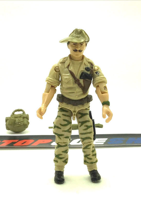 1984 VINTAGE ARAH G.I. JOE COBRA RECONDO V1 JUNGLE WARFARE SPECIALIST LOOSE 100% COMPLETE (b)