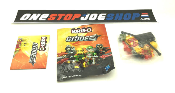 KRE-O G.I. JOE BLOWTORCH V1 KREON WAVE 2 COMPLETE NEW SEALED FIGURE CONTENTS