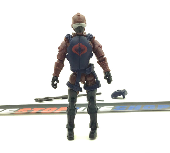 2010 POC G.I. JOE COBRA H.I.S.S. TANK DRIVER V1 ALPHA VEHICLE HISS DRIVER LOOSE 100% COMPLETE NO FILE CARD