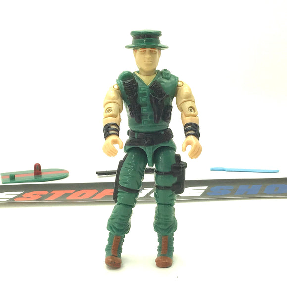 1988 ARAH G.I. JOE MUSKRAT V1  SWAMP FIGHTER LOOSE 100% COMPLETE (b)