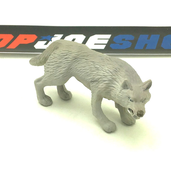 2007 25TH ANNIVERSARY SNAKE EYES V29 LIGHTER GREY TIMBER WOLF ANIMAL ACCESSORY PART CUSTOMS
