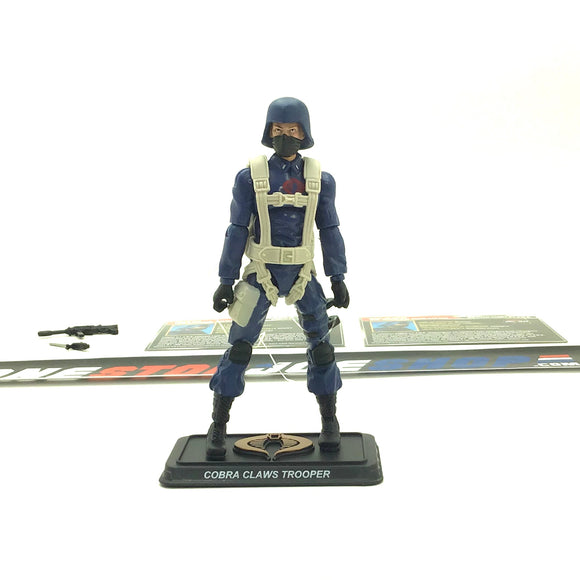 2015 50TH ANNIV G.I. JOE COBRA C.L.A.W.S. CLAWS TROOPER V1 CHASE FOR THE M.A.S.S. DEVICE PACK LOOSE 100% COMPLETE + F/C