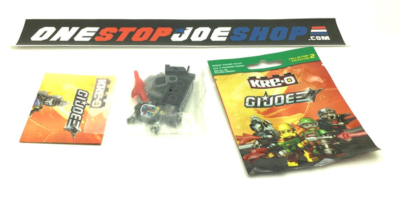 KRE-O G.I. JOE COBRA B.A.T. BAT V1 KREON WAVE 2 COMPLETE NEW SEALED FIGURE CONTENTS