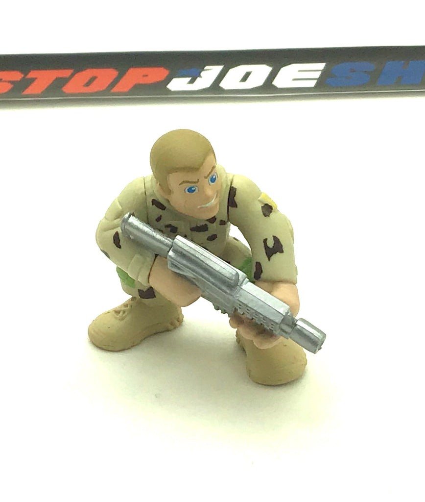 2009 COMBAT HEROES G.I. JOE DUKE V3 ROC RISE OF COBRA LOOSE