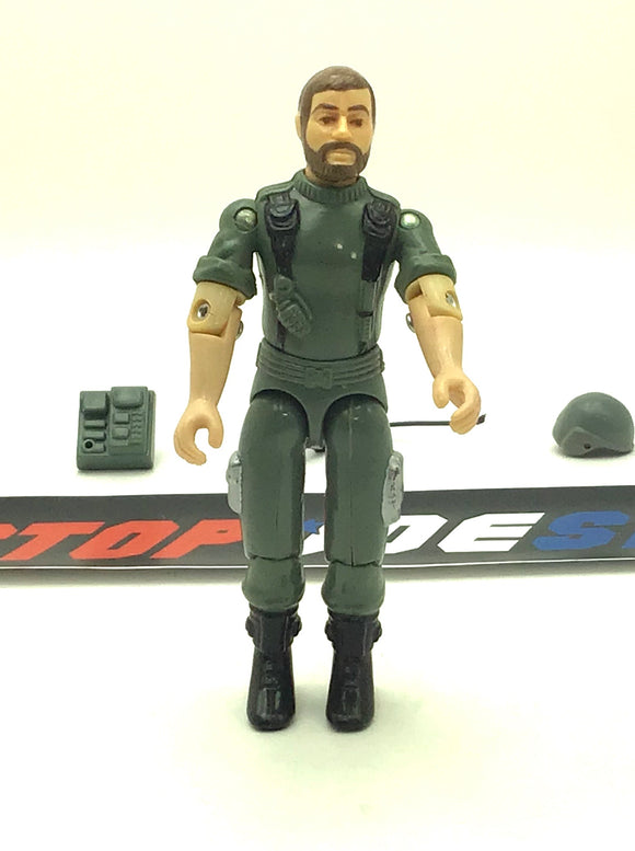1982-83 VINTAGE ARAH G.I. JOE BREAKER V1.5 COMMUNICATIONS OFFICER LOOSE 100% COMPLETE