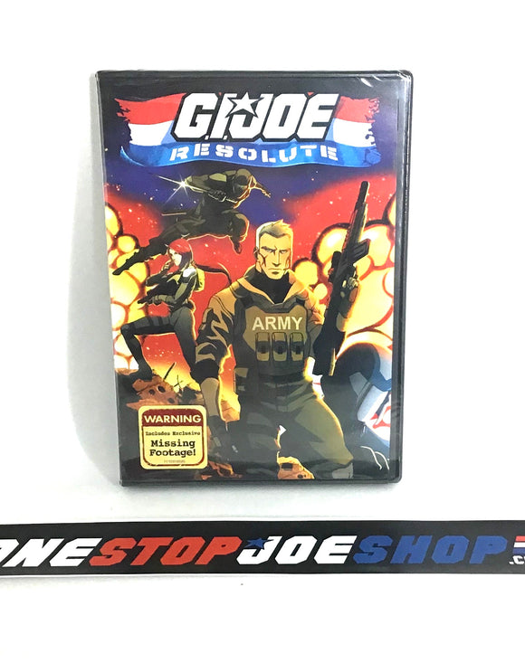 G.I. JOE RESOLUTE DVD MOVIE