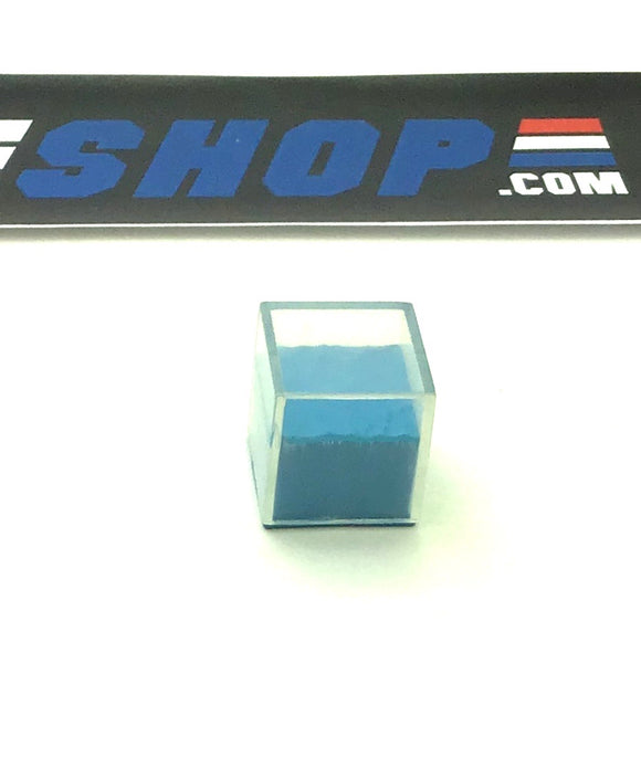 2008 25TH ANNIVERSARY M.A.S.S. DEVICE BLUE MASS ELEMENT CUBE PLAY SET DIORAMA PART