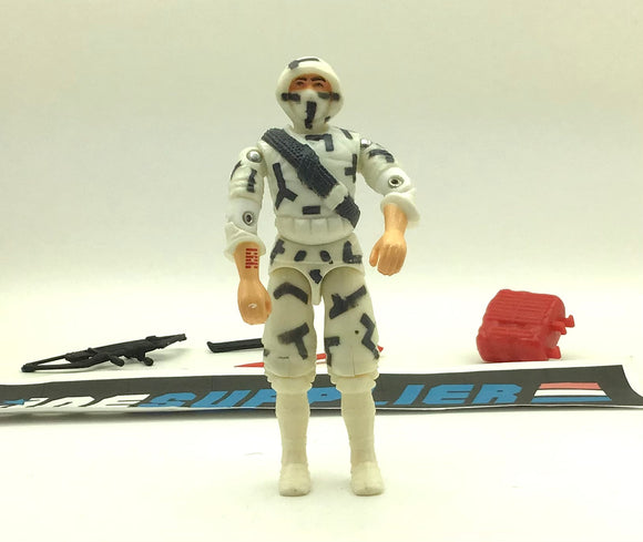 1992 FUNSKOOL RUSSIA COBRA STORM SHADOW  LOOSE 100% COMPLETE + FULL CARD