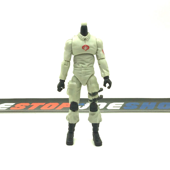 2007 25TH ANNIVERSARY COBRA VEHICLE DRIVER V1 BODY PART CUSTOMS