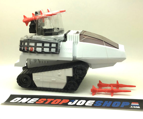 C2009 25TH ANNIVERSARY G.I. JOE COBRA ARCTIC H.I.S.S. HISS TANK BRAVO VEHICLE LOOSE COMPLETE