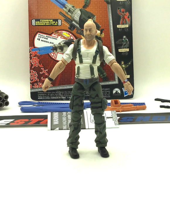 2013 RETALIATION G.I. JOE JOE COLTON V1 LOOSE 100% COMPLETE + FULL CARD