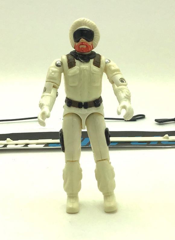 1983 ARAH G.I. JOE SNOW JOB V1 ARCTIC TROOPER LOOSE 100% COMPLETE (a)