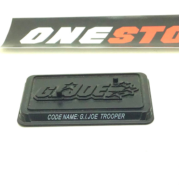 2008 25TH ANNIVERSARY G.I. JOE TROOPER V1 TWO PEG FIGURE STAND ACCESSORY