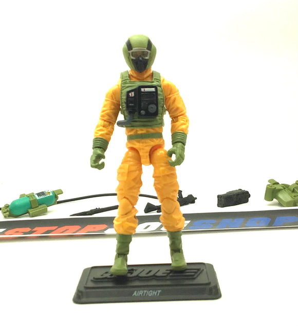 2011 30TH ANNIVERSARY G.I. JOE AIRTIGHT V3 LOOSE 100% COMPLETE NO FILE CARD