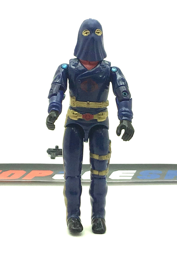 1984 VINTAGE ARAH G.I. JOE COBRA COMMANDER V2 ENEMY LEADER MAIL IN LOOSE 100% COMPLETE (e)