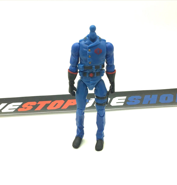 2007 25TH ANNIVERSARY COBRA COMMANDER V24 BODY PART CUSTOMS