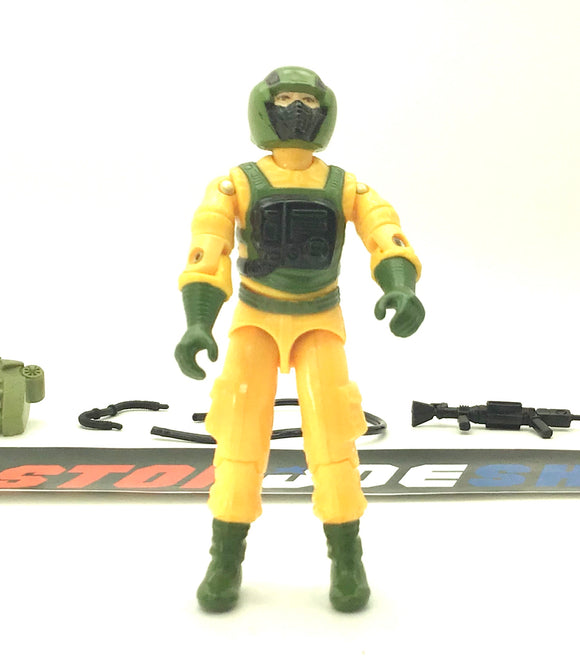 1985 VINTAGE ARAH G.I. JOE AIRTIGHT V1  HOSTILE ENVIRONMENT LOOSE 100% COMPLETE (a)