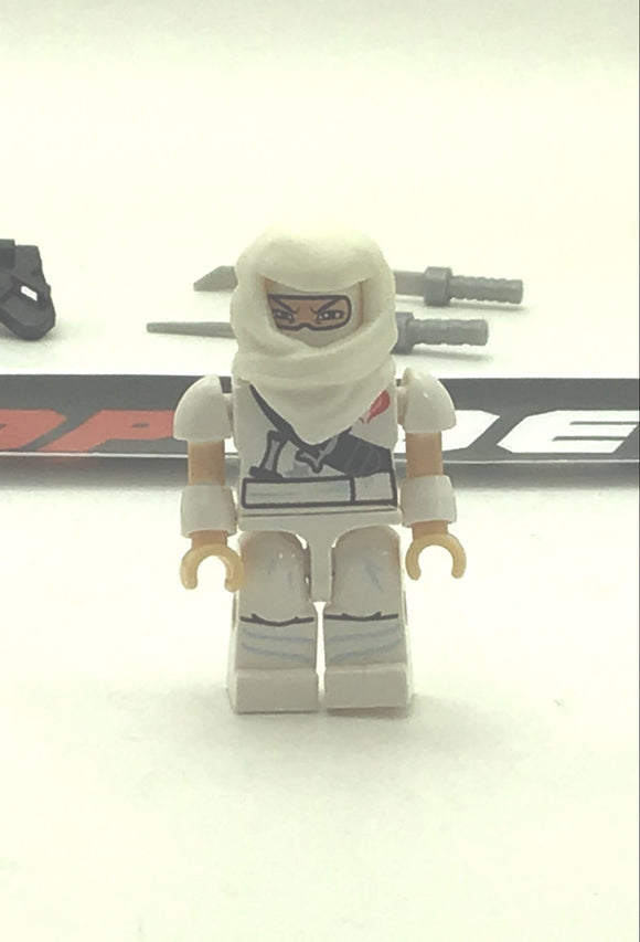 KRE-O G.I. JOE COBRA STORM SHADOW V2 KREON NINJA TEMPLE BATTLE LOOSE COMPLETE