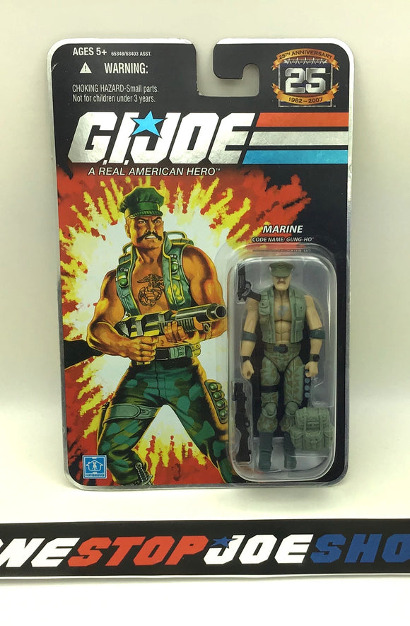 2007 25TH ANNIVERSARY G.I. JOE GUNG HO V18 WAVE 4 NEW SEALED