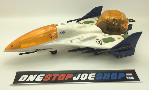 1987 VINTAGE ARAH G.I. JOE BATTLE FORCE 2000 VECTOR JET LOOSE 100% COMPLETE (a)