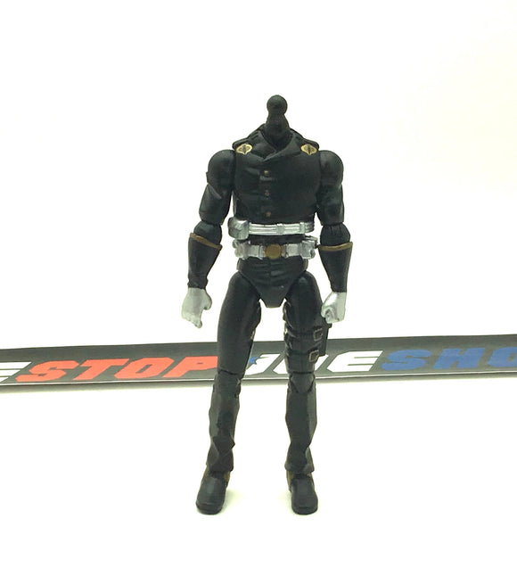 2007 25TH ANNIVERSARY COBRA COMMANDER V26 BODY PART CUSTOMS