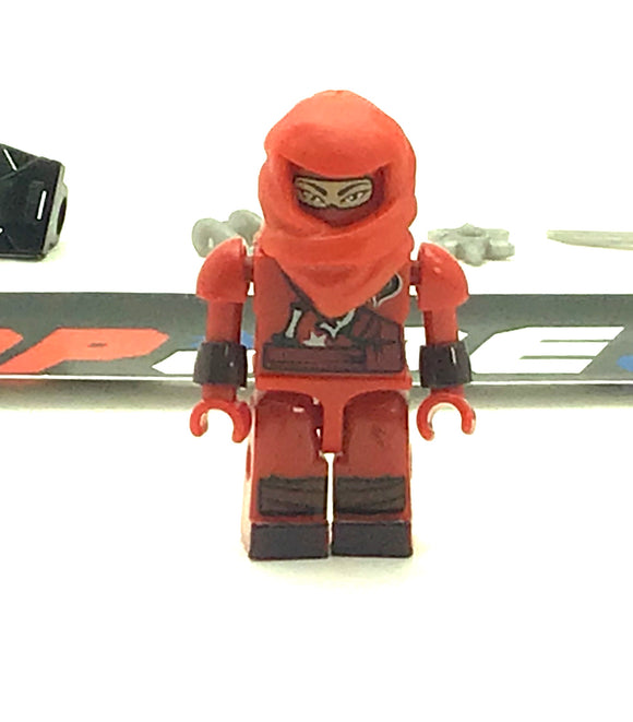 KRE-O G.I. JOE COBRA RED NINJA V1 KREON NINJA TEMPLE BATTLE LOOSE COMPLETE