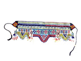 Festival kuchi tribal beaded and embroidered belt