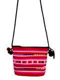 pompom tribal pink bag