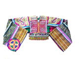 Kuchi tribal boho embroidered and beaded top