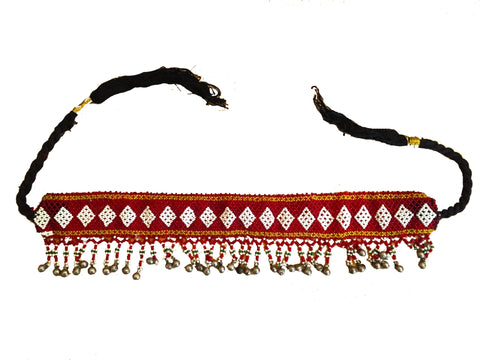 Kuchi tribal headpiece