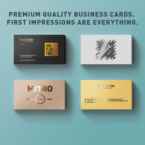 Headshot & 500 Business Cards