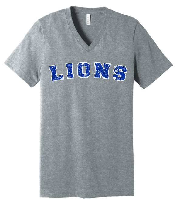 Lion Paw V-neck Tee
