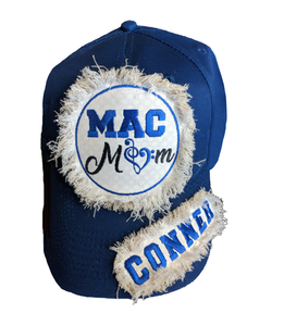 MAC Mom Raggy Patch Cap