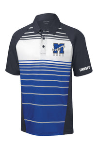 Mac Band Striped Polo
