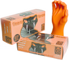 Orange Mamba 5.75 mil Nitrile Large