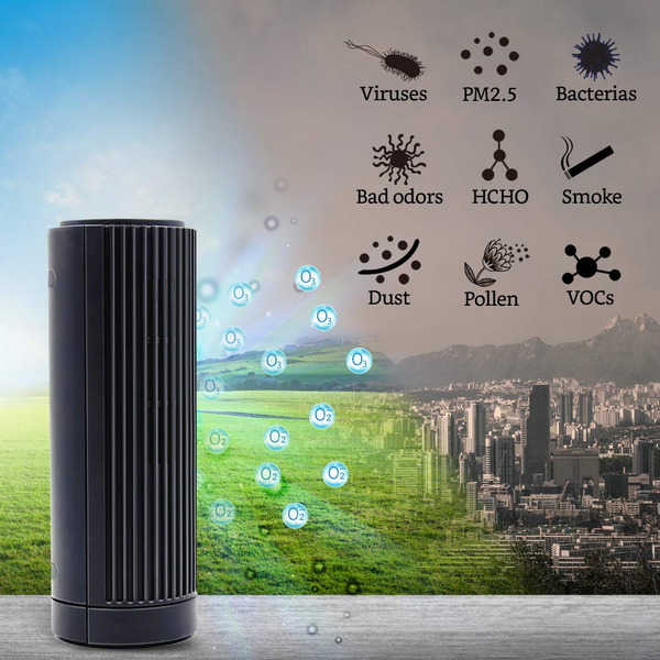 Personal Air Purifier - Ozone and Ionic Air Purifier-3