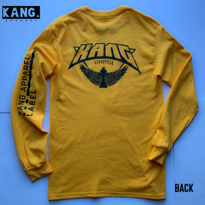 KANG LIFESTYLE LONG SLEEVE | GOLD/BLACK