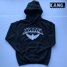 Load image into Gallery viewer, KANG LIFESTYLE HOODIE | BLK/WHITE