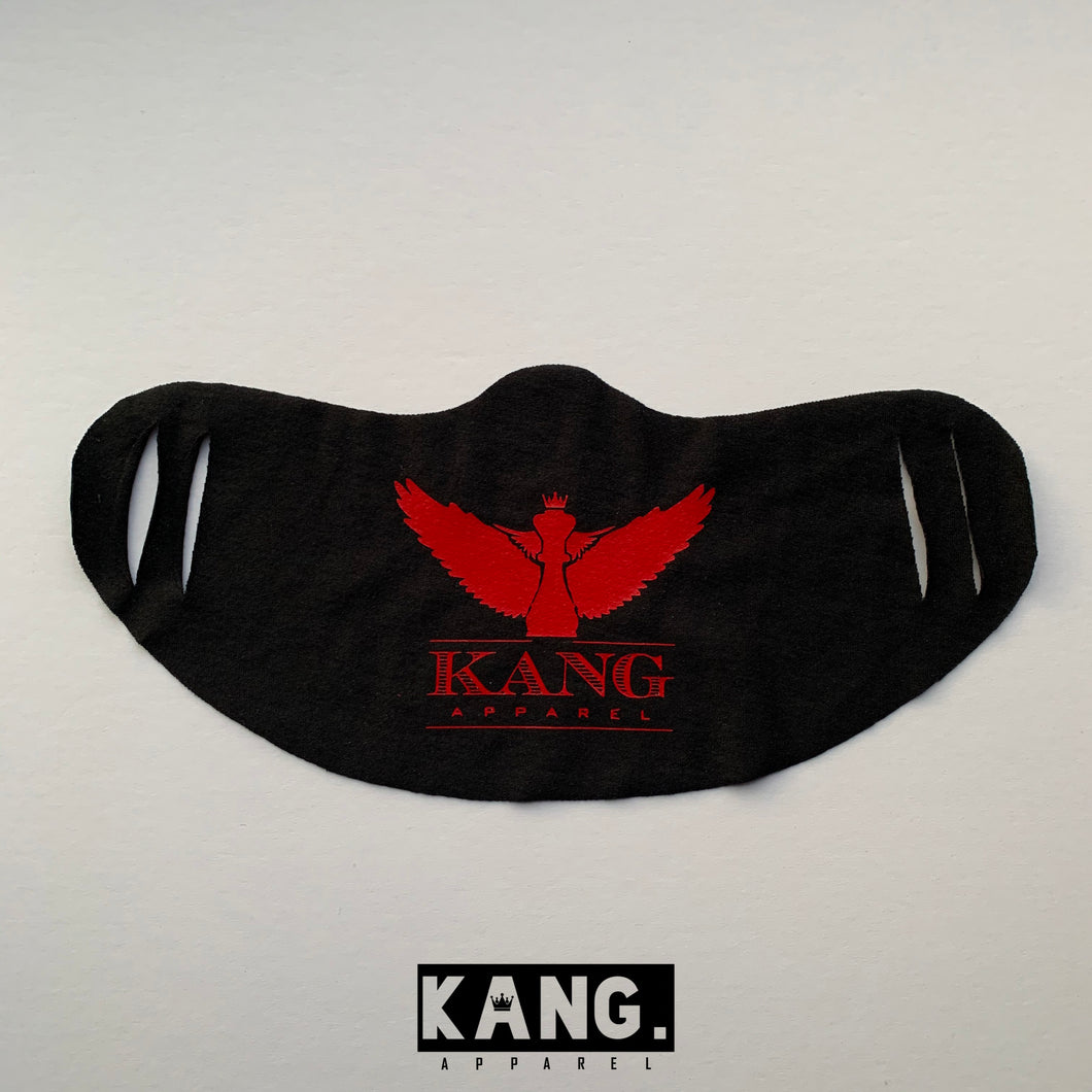 Kang Face Wear | BLK/Red (Last Dance Edition)