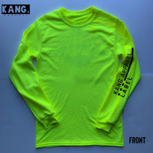 Load image into Gallery viewer, KANG LIFESTYLE LONG SLEEVE | NEON/BLACK