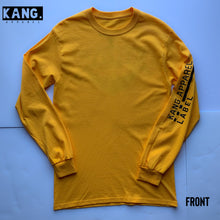 Load image into Gallery viewer, KANG LIFESTYLE LONG SLEEVE | GOLD/BLACK