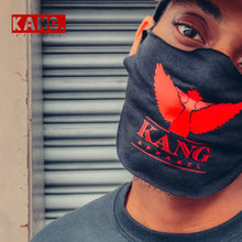 Load image into Gallery viewer, Kang Face Wear | BLK/Red (Last Dance Edition)