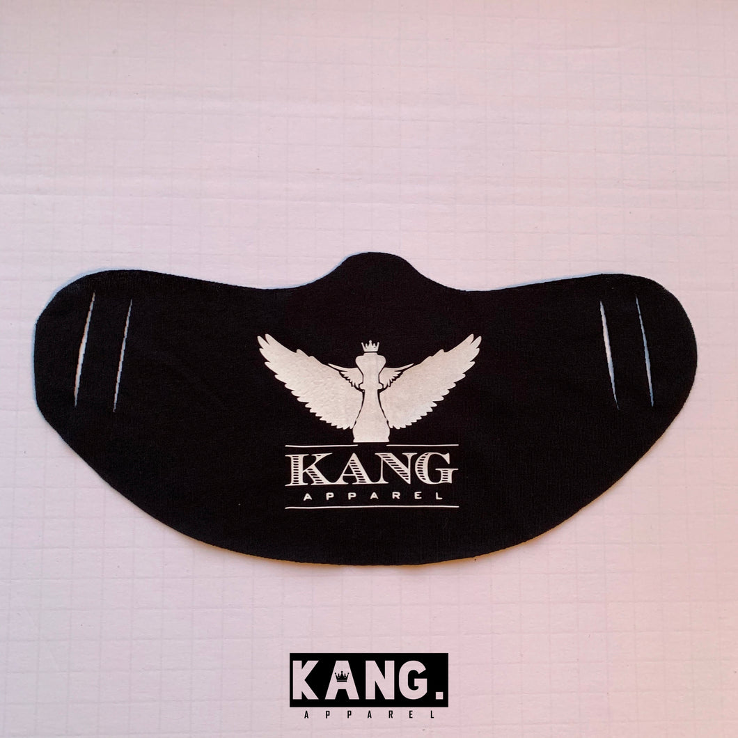 Kang Face Wear | BLK/White
