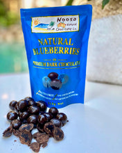 Load image into Gallery viewer, Blueberries in Premium Dark Chocolate Noosa Natural Chocolate Company