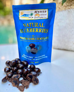 Blueberries in Premium Dark Chocolate Noosa Natural Chocolate Company